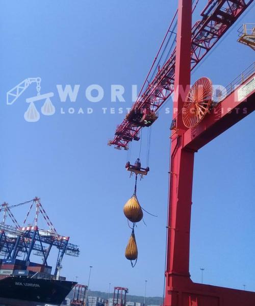 Transnet Port Terminals Liebherr Ship To Shore Cranes